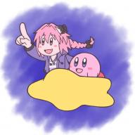 alternate_outfit astolfo crossover kirby kuro_no_rider memories_of_trifas rider_of_black // 1000x1000 // 655.3KB