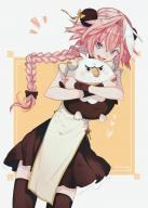 alternate_outfit astolfo hippogriff hippogriff_plushie kuro_no_rider rider_of_black // 829x1160 // 902.8KB