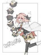 astolfo hippogriff hippogriff_plushie kuro_no_rider rider_of_black // 960x1280 // 759.0KB