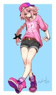 alternate_outfit astolfo candy_pink_outfit kuro_no_rider rider_of_black // 900x1512 // 477.6KB