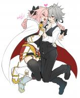 astolfo kuro_no_rider rider_of_black // 1200x1450 // 195.4KB
